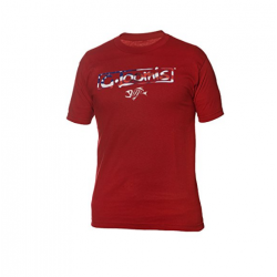 GLoomis® American Pride Short Sleeve Tee Red