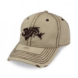 G.loomis® A-FLEX® Distressed Thick Stitching Khaki Hat