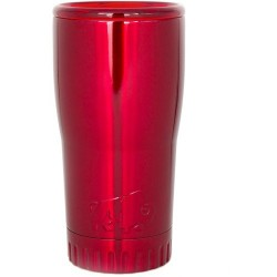 Silver Buffalo Red 20 Oz. Stainless Steel Tumbler
