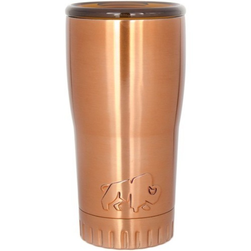 Silver Buffalo Gold 20 Oz. Stainless Steel Tumbler