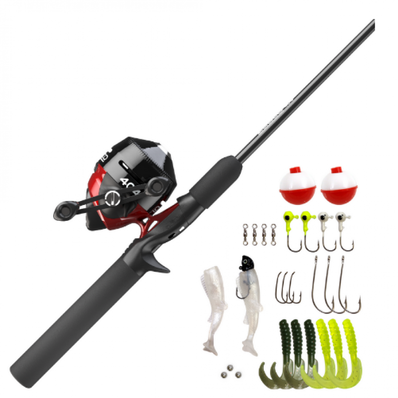 Zebco 404  with Tackle 5'6'' Spincast Combo