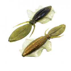 Chasebaits The Flip Flop 4.25''  Watermelon Red 6 pcs