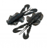 Chasebaits The Love Bug 4'' Black and Blue Craw 6 pcs