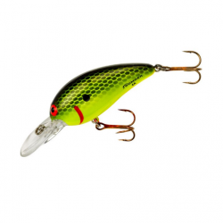 Bomber Model A 5/16 Oz Chartreuse Black Scales