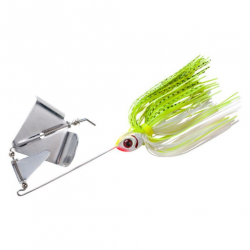Booyah Buzz 1/2 Oz Chartreuse Pearl White/White Chartreuse