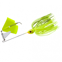 Booyah Buzz 1/4 Oz Chartreuse/ Chartreuse Shad