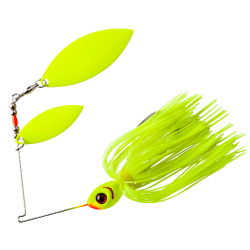 Booyah Glow Blade Doble Willow 1/2 Oz Chartreuse-Chartreuse
