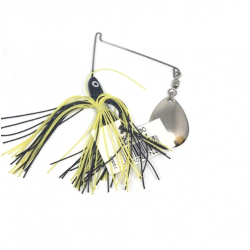 Spinnerbait 1/4 Black Chartreuse