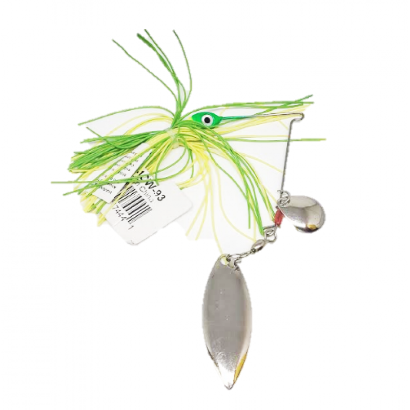 Spinnerbait 1/4 Chartreuse