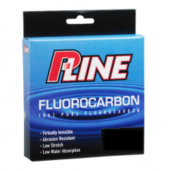 P-Line Soft Fluorocarbon Fishing Line 250Yd 30Lb, Clear